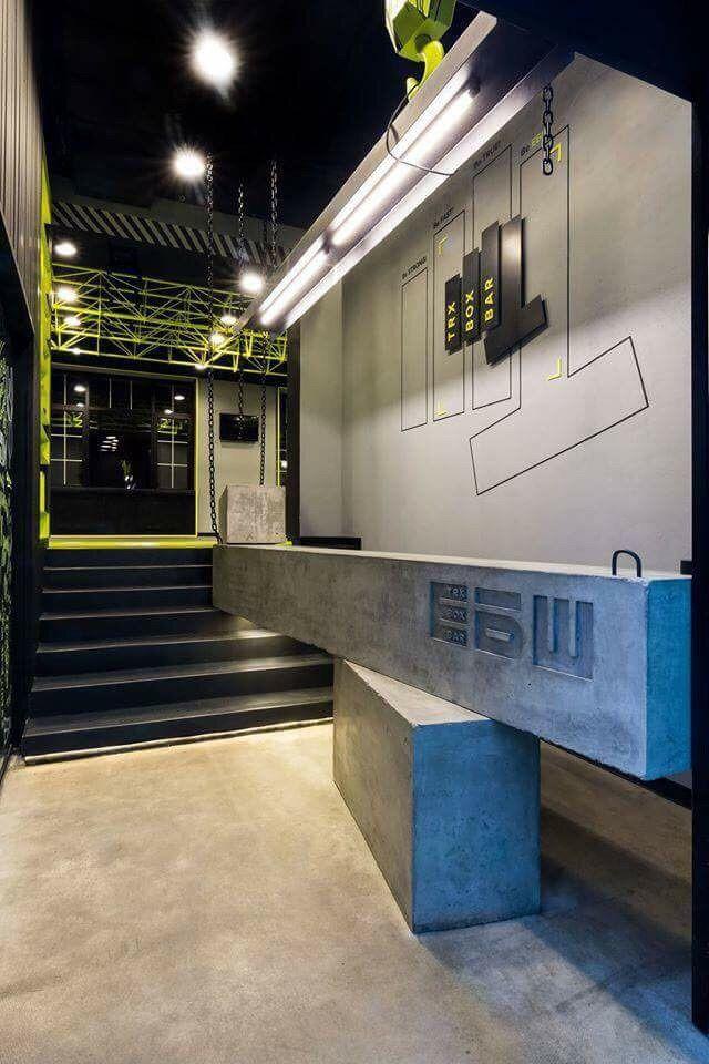 Pin By Yuyu On S 商业 空间 Gym Interior Gym Design Interior