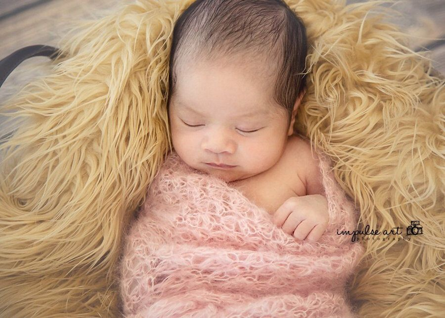 Pattern - Newborn Wrap Crochet Pattern - Newborn Mohair Layering ...