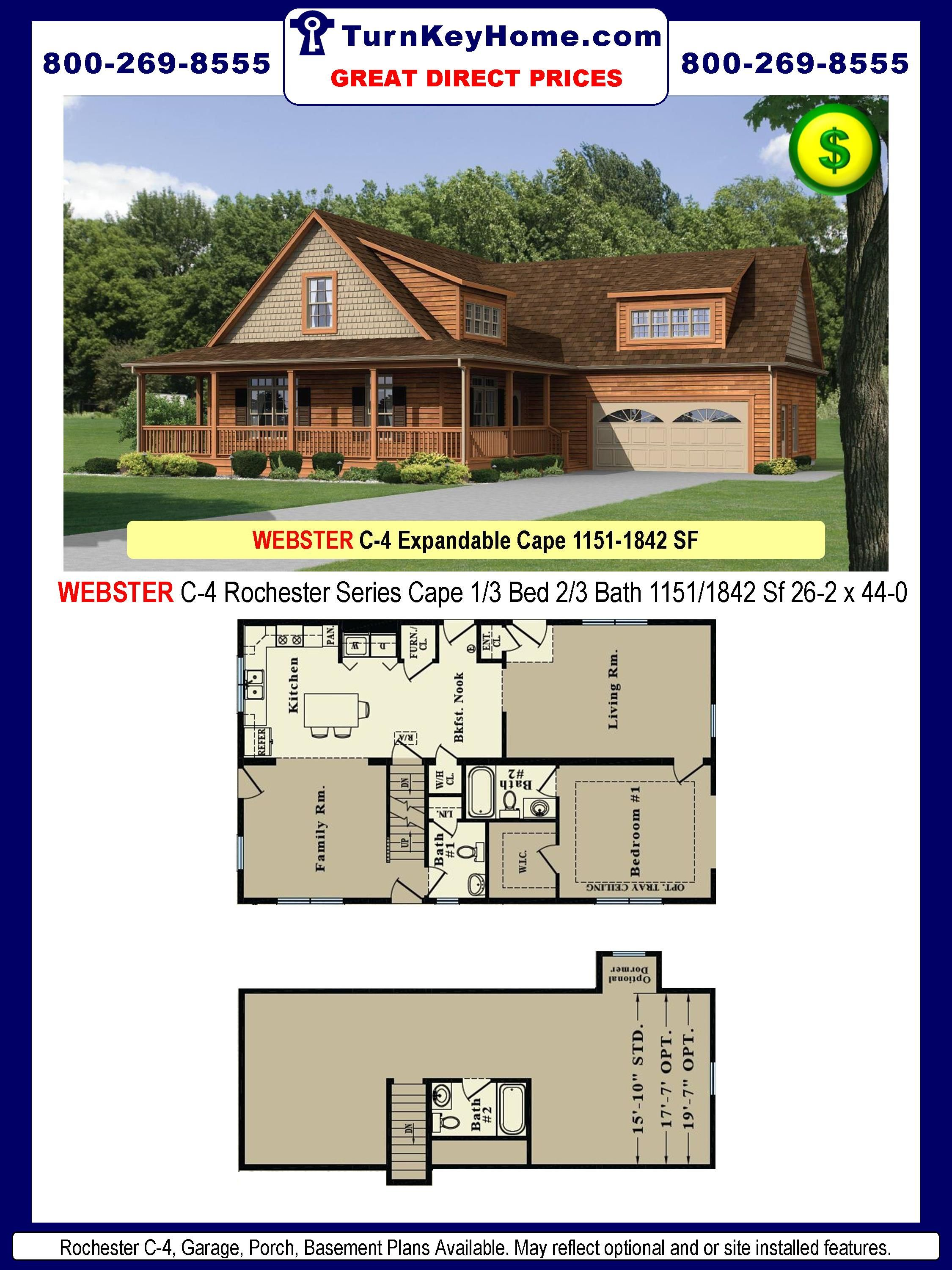 Bedroom Modular Home Prices