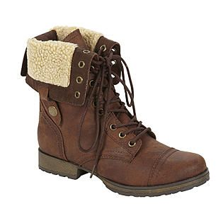 690b779c721 Kmart Bongo Women's Tracey Mid-calf Brown Lace Up Boots $25 | Shoes ...