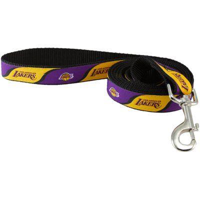 16a90d23bc04 Los Angeles Lakers 6  Purple-Gold Dog Leash