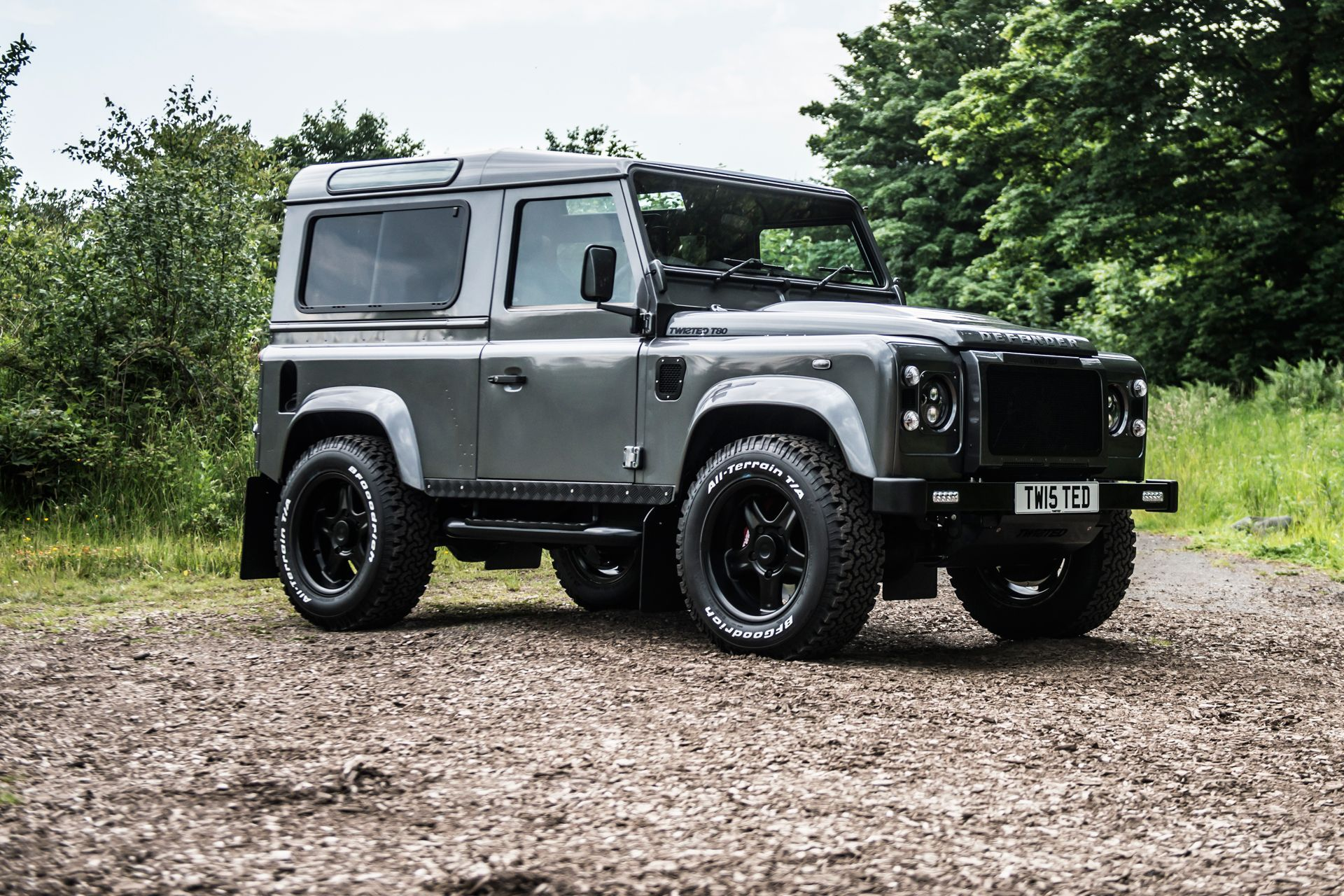 The Twisted Land Rover Defender Has 430bhp And You Want One Land Rover Land Rover Defender Defender