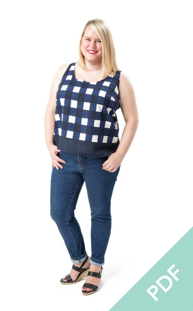 Springfield Top | Curvy Sewing Patterns | Cashmerette - Cashmerette Patterns