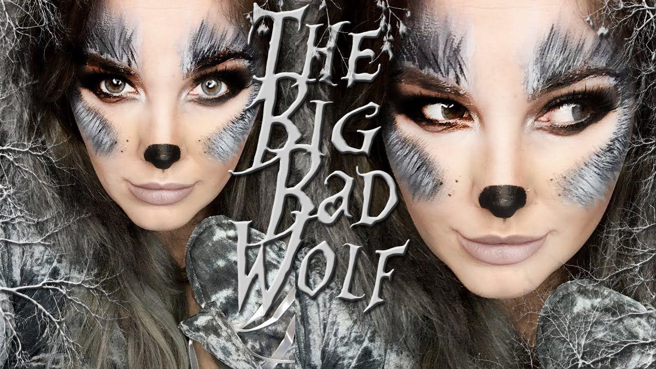 Big Bad Wolf Makeup Tutorial Halloween Fun