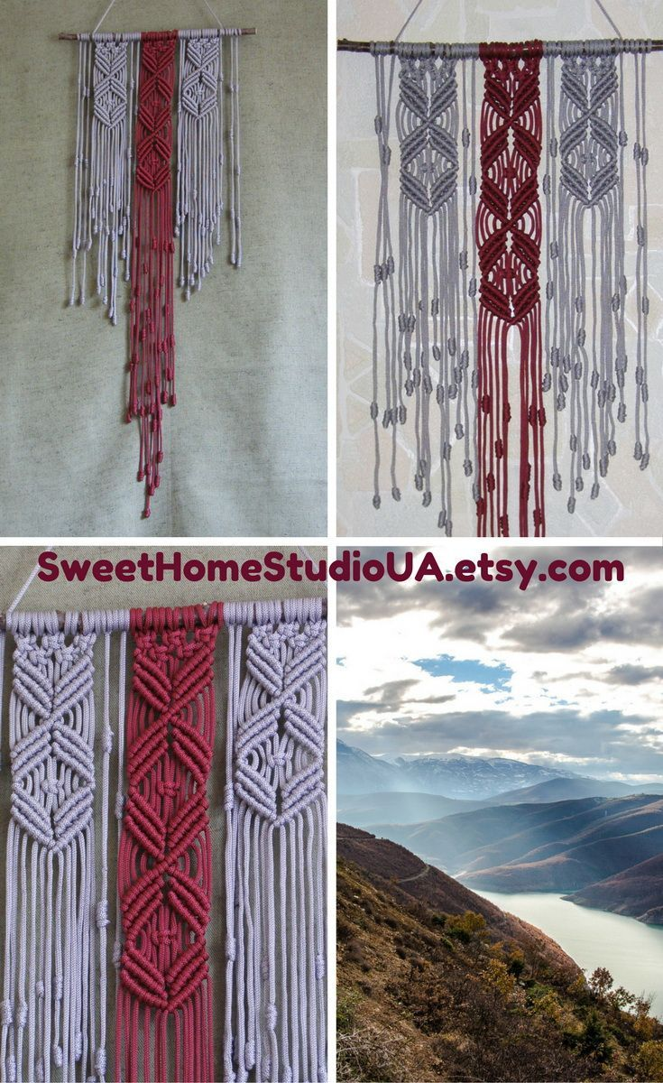 This wall tapestry fiber wall decor is beautiful addition to any