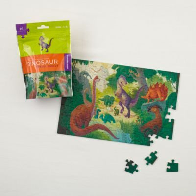 On the Go Travel Puzzle (Dinosaurs)  | The Land of Nod #FeatherYourNest