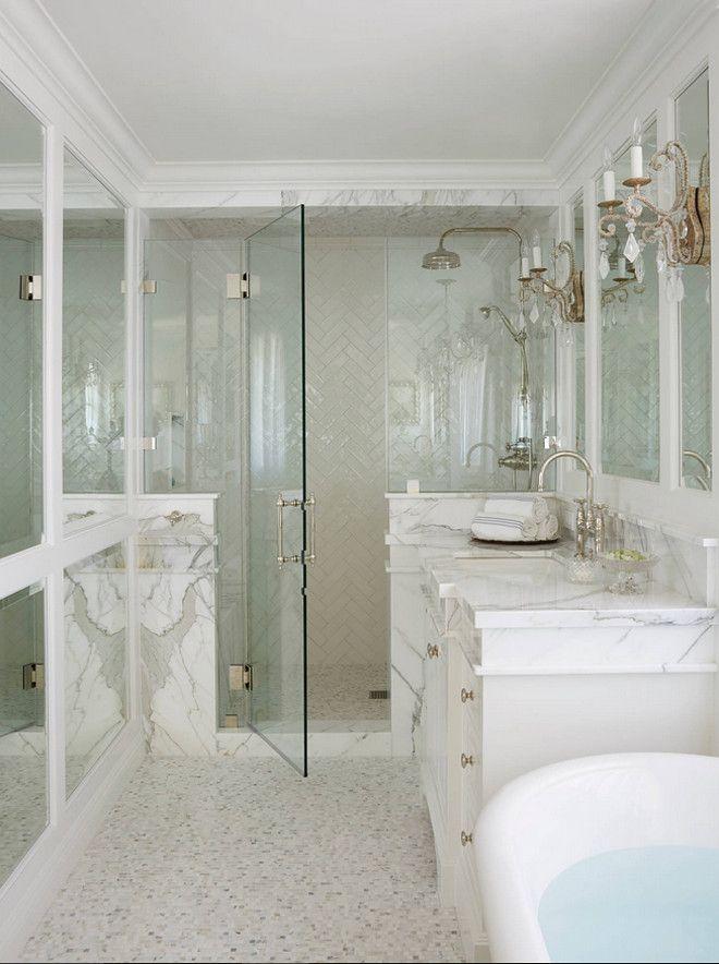 Herringbone shower tile. Herringbone shower tile color. Herringbone ...