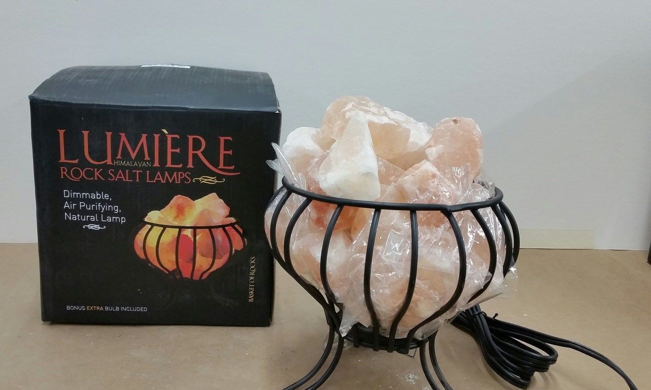 Salt Lamp Recall Endearing Thousands Of Himalayan Rock Salt Lamps Recalled  Himalayan Rock Review