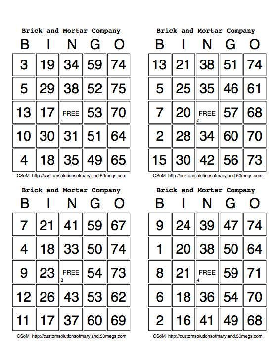 My Bingo Cards Keygen  Download Keygen  Tablas De Cartazo