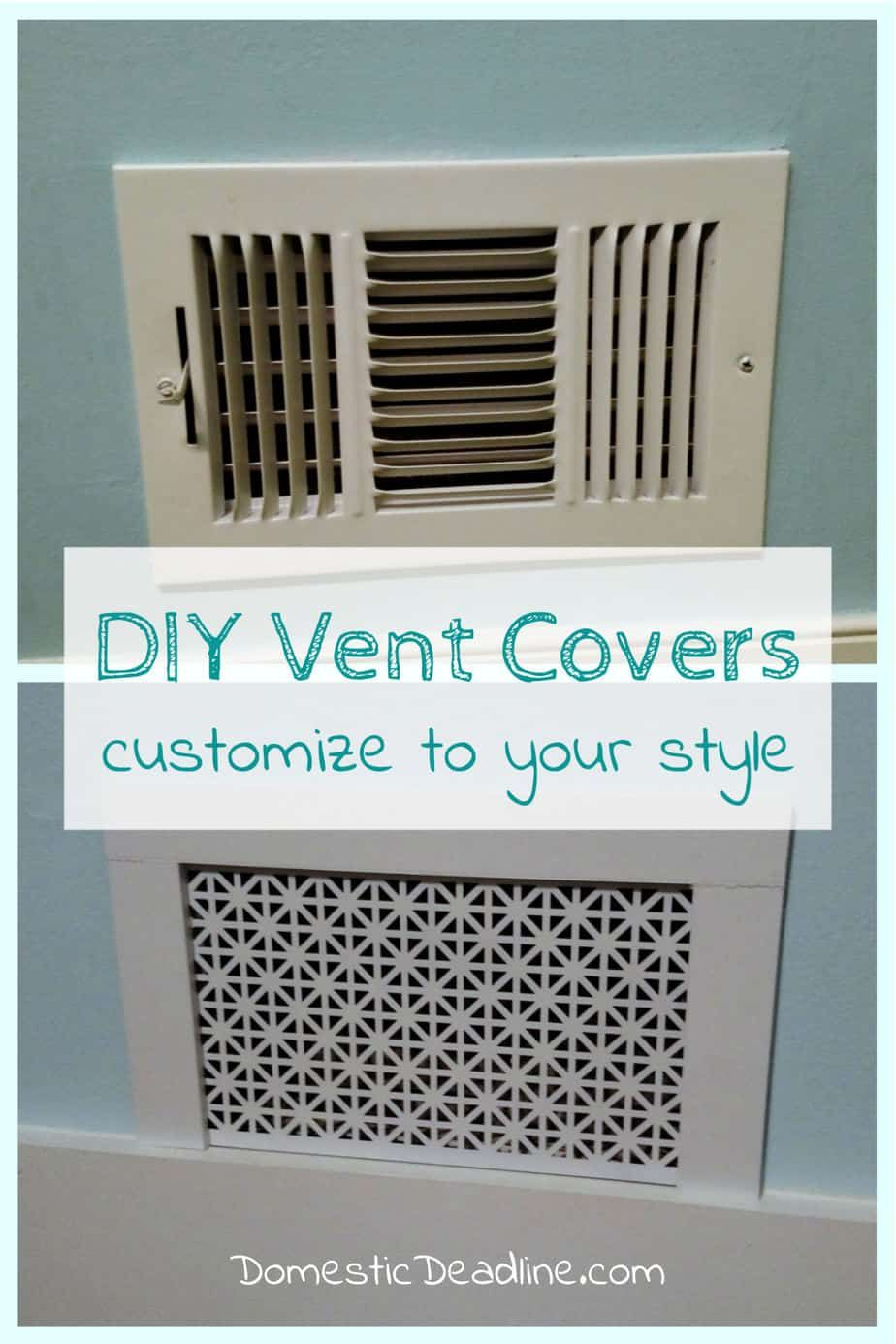 How To Make Custom Air Vent Covers In 2020 Vent Covers Diy Vent
