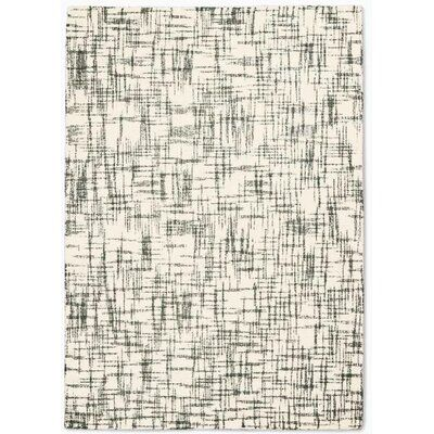 Calvin Klein Tucson Modern Abstract Hand Tufted Wool Ivory Gray