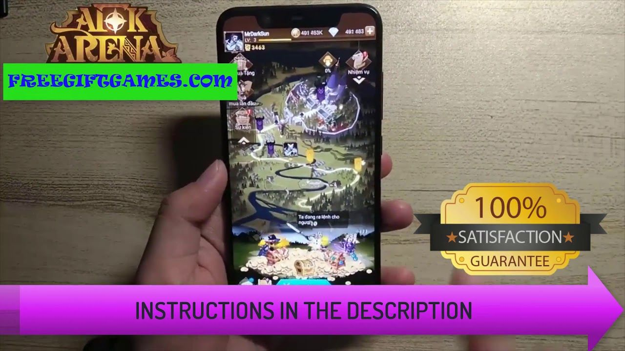 AFK ARENA Mod -How To Get Free Diamonds & Gold - Easy and