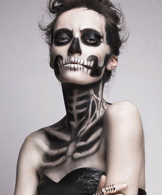 13 Amazing Halloween Makeup Tutorials to Try   Halloween make up ...