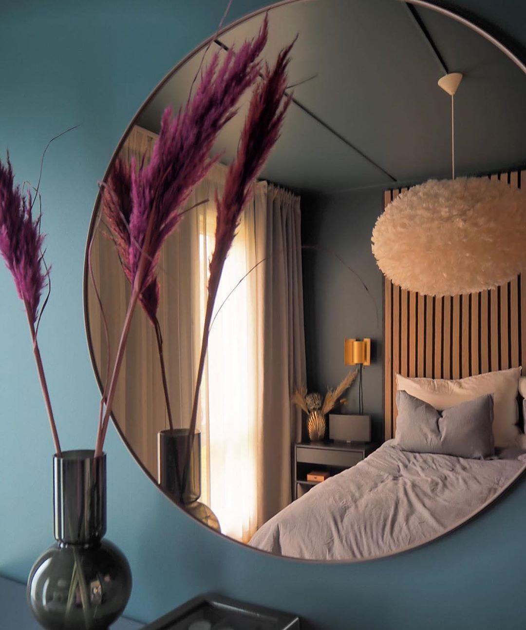 Photo of Kreditt: @christineshome Haloo-farger Hvor nydelig soverom er dette? Tro…