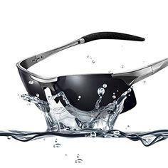 1c3456f1ac6 Duco Men s Sports St Duco Men s Sports Style Polarized Sunglasses Driver  Glasses 8177S (Gunmetal Frame