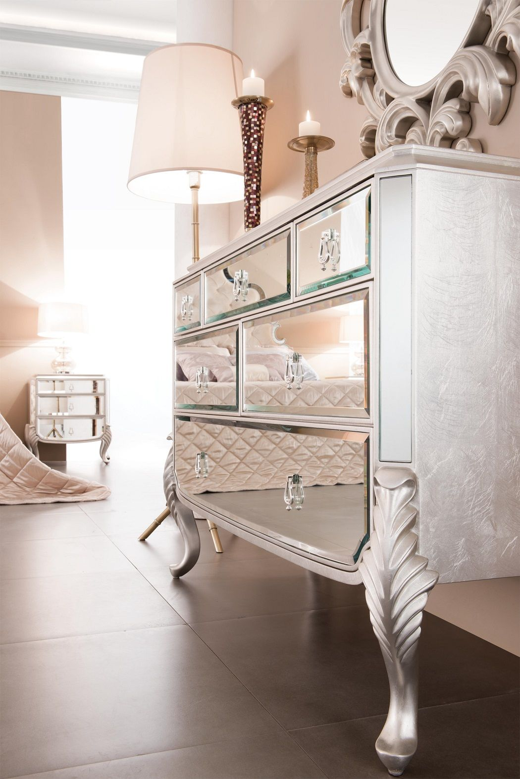 Mirrored Dresser - Florentine | For the Home | Pinterest | Mirrored ...