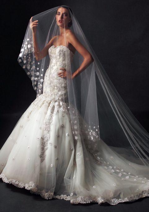 Amalia Carrara Bridal Gown 316 | Future Wedding <3 | Pinterest