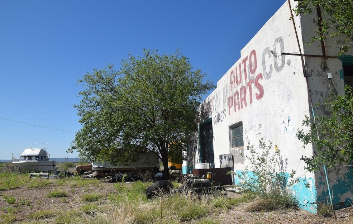 """In San Jon NM """" Route 66 on My Mind """" http://route66jp.info Route 66 blog ;…"""