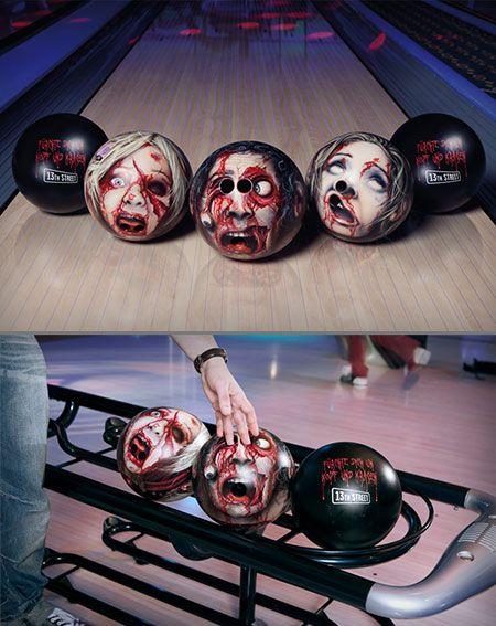 Walking dead bowling ball