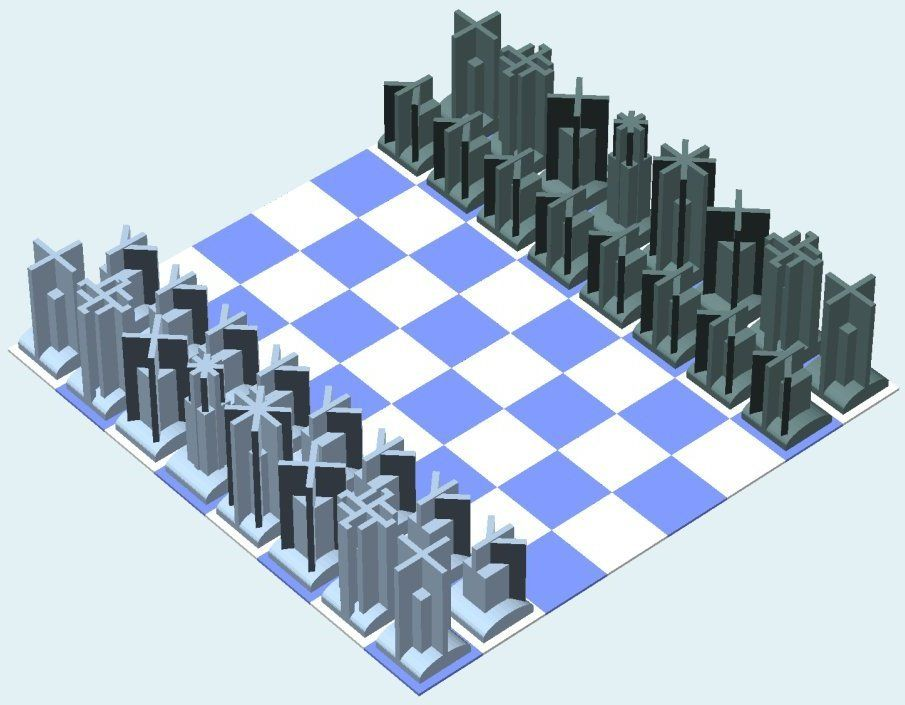 Heading #Chess by MakeALot.