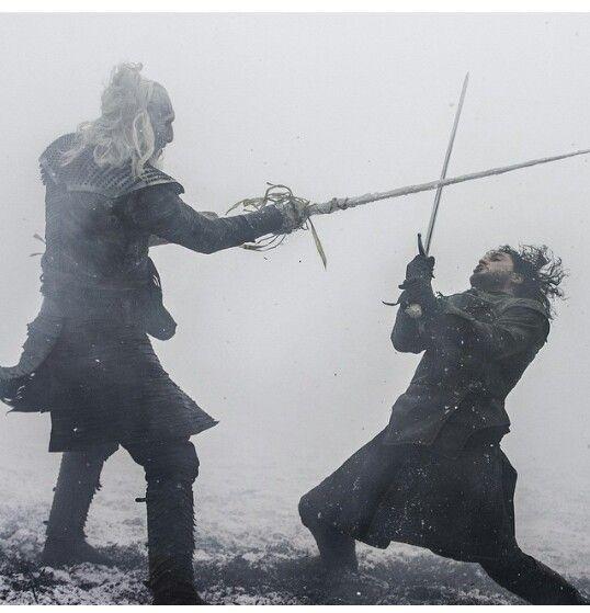 Valiryan Steel Bi Ches Jon Snow Against The Heavybadass White