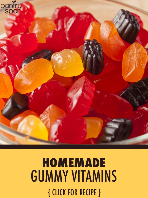 Learn how to make your own gummy vitamin at home with just a few simple ingredients. This recipe will please kids and make vitamins better for adults.