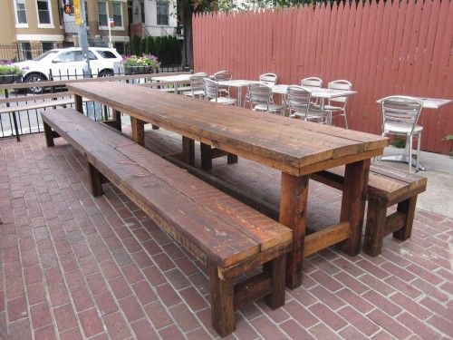 Communal Seating Bar Pinterest Communal Table Restaurant Bar - Outdoor communal table