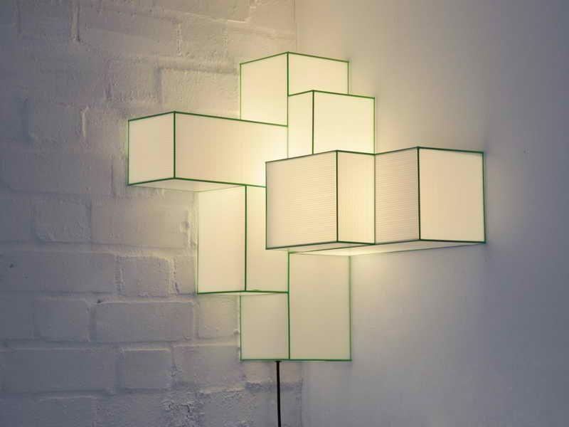 Ideas for Create Unique Lamp Design: Corner Lamp Design  Fortikur