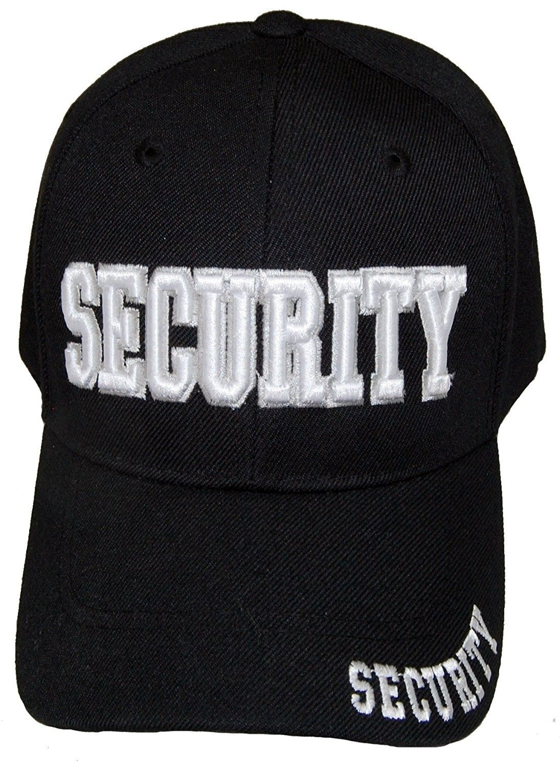 SECURITY GUARD OFFICER CAP EMBROIDERED BASEBALL CAP - C3187G0ZXWI - Hats    Caps b26819311bb
