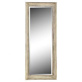 Floor mirror with distressed wood frame. Product: Floor ...