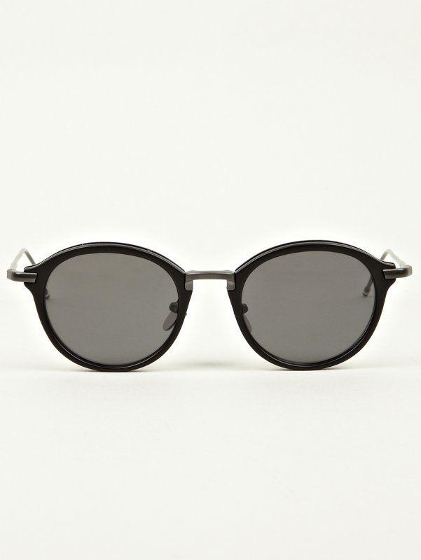 4fc5f733daed Thom Browne Mens TB-011 Matte Black Sunglasses