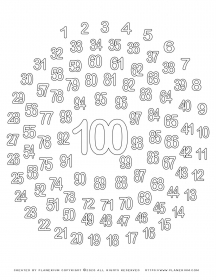 100 Days Of School Coloring Page 1 To 100 Spiral Planerium School Coloring Pages 100 Days Of School 100th Day Of School Crafts
