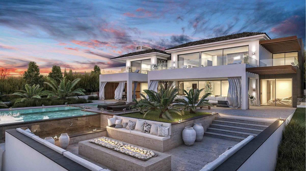 maison contemporaine de luxe à vendre la cerquilla, marbella
