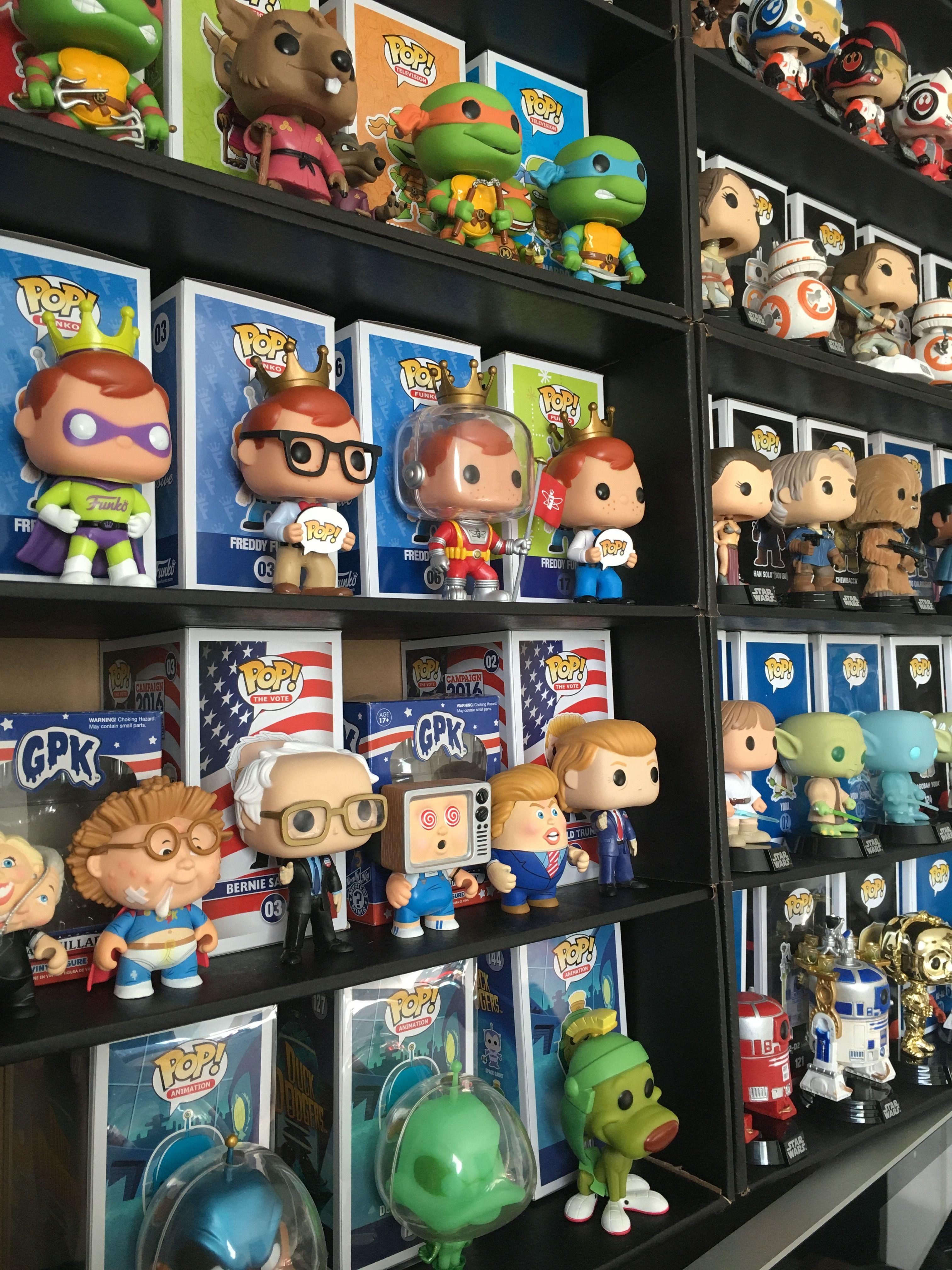 Display Geek Funko Shelves Pop Vinyls