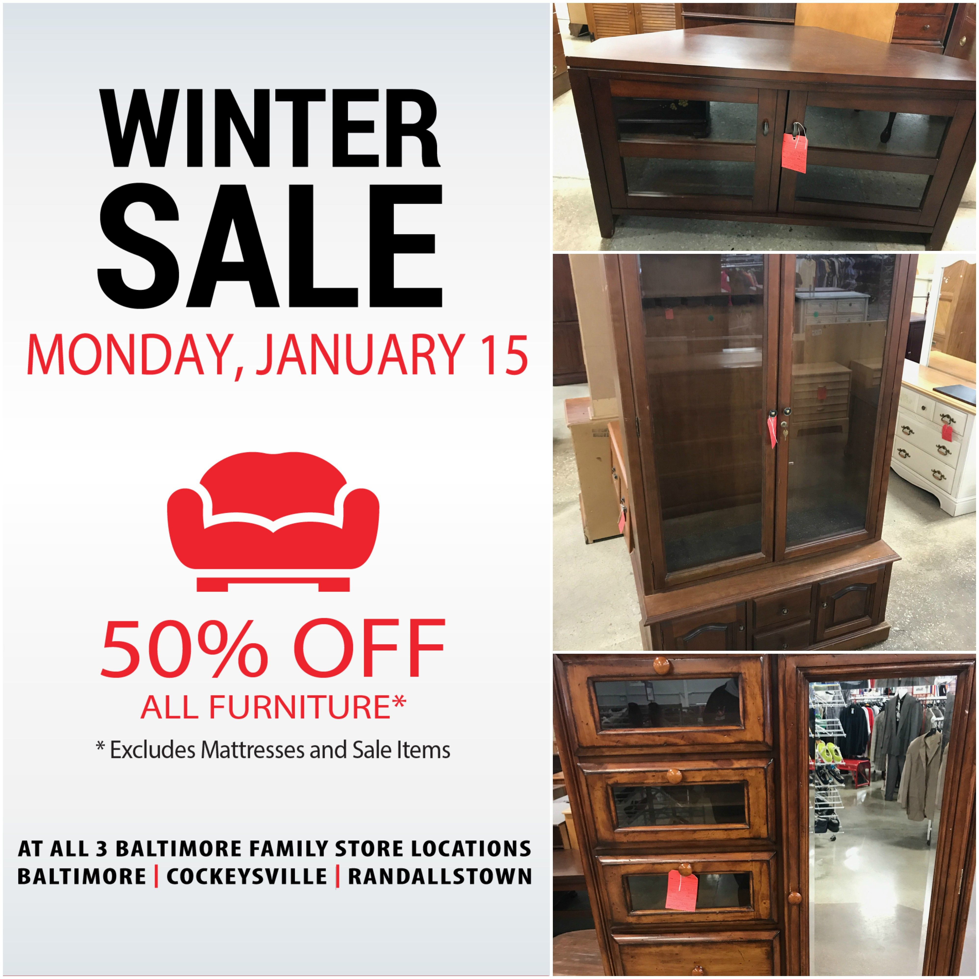 It S A Merry Monday For Our Winter Furniture Sale All Three