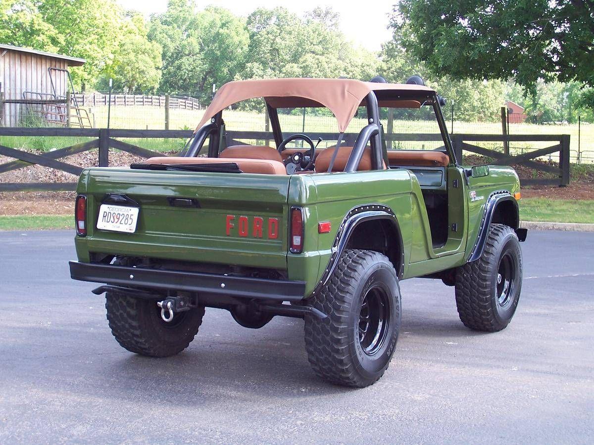1975 Ford Bronco Restomod Ford Bronco Ford Bronco For Sale Bronco