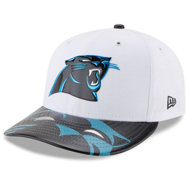 Carolina Panthers New Era 2017 NFL Draft On Stage Low Profile 59FIFTY  Fitted Hat - White -  39.99 0e6062425c45
