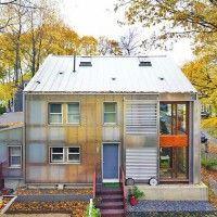 Translucent Energy Efficient East Coast Home
