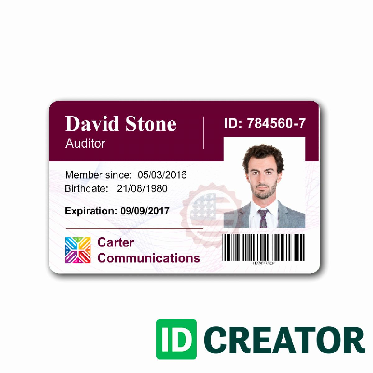 Employees Id Card Template Lovely Work Id Card Template Beautiful Template Design Ideas Id Card Template Employee Id Card Employees Card
