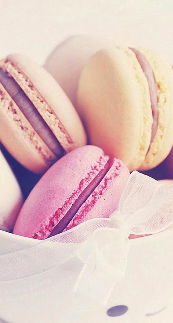 Sweet Macarons By Wallpaper Hd Iphone5 Wallpapers Pinterest