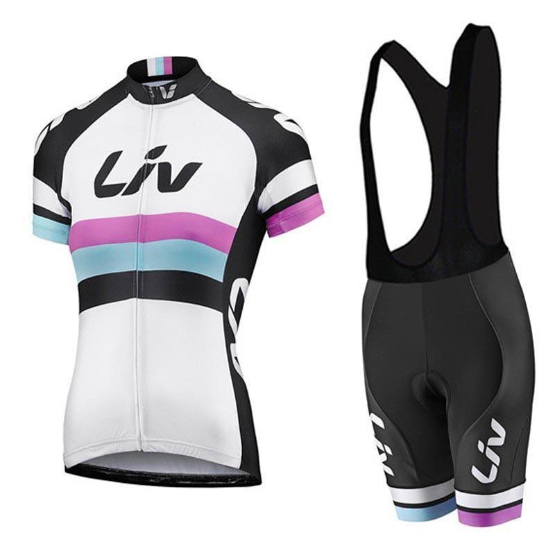 2018 LIV Women s Cycling Kit Jersey   Short Sets  952bc264d