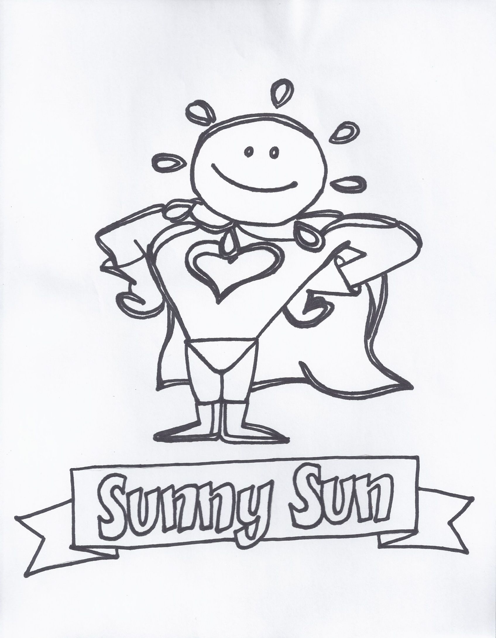 Sunny Sun I Help You See The Good Things In A Day And