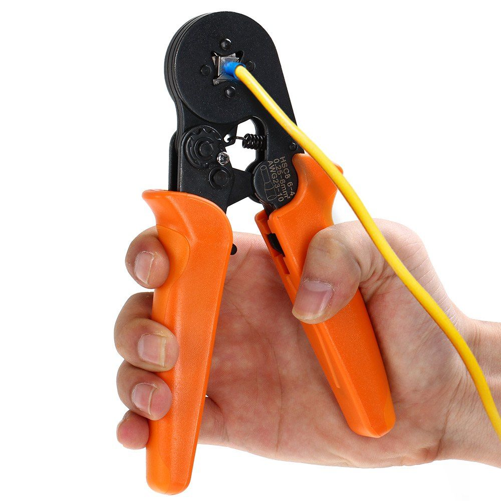 New Portable Self-adjusting Crimping Plier Wire Cable End Sleeves Ferrules Cutters Cutting Pliers Multi Hand Tools