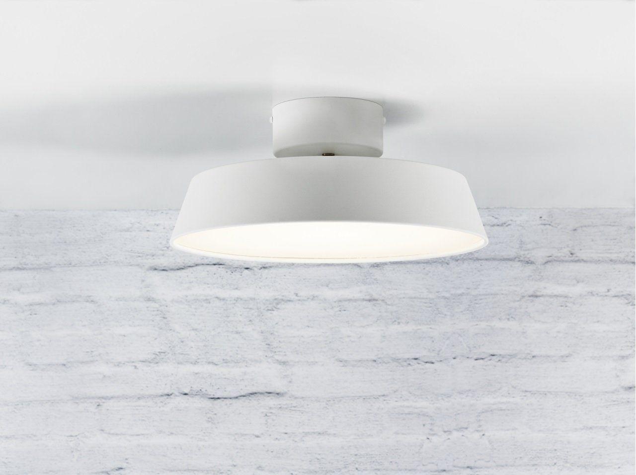 Nordlux led deckenleuchte alba weiss lt : amazon.es: iluminación