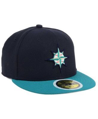 c043e077bd0 New Era Kids  Seattle Mariners Batting Practice Diamond Era 59FIFTY Cap -  Blue 6 5 8