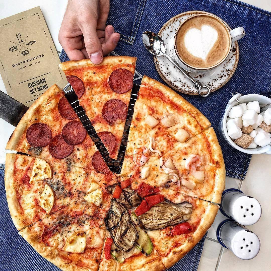 Сделать, смешная картинка с пиццей