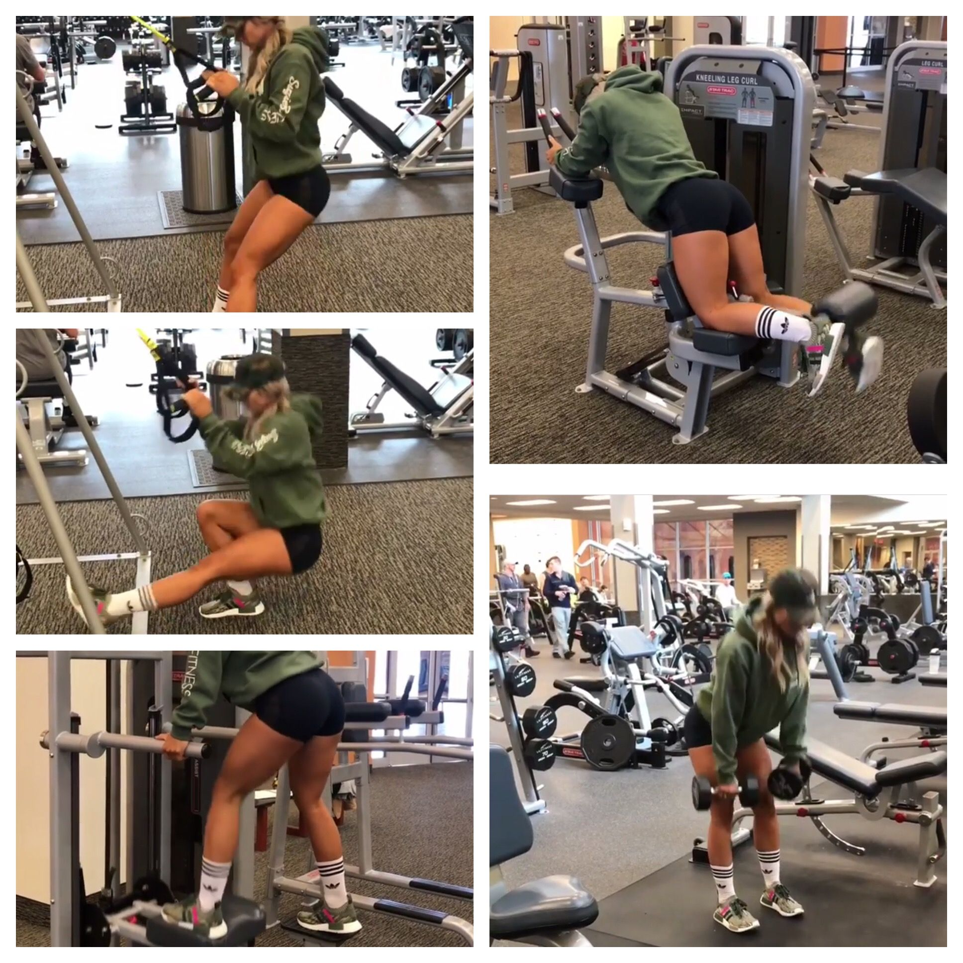 Leg workout part 2: Superset Sissy squats & Assisted pistol