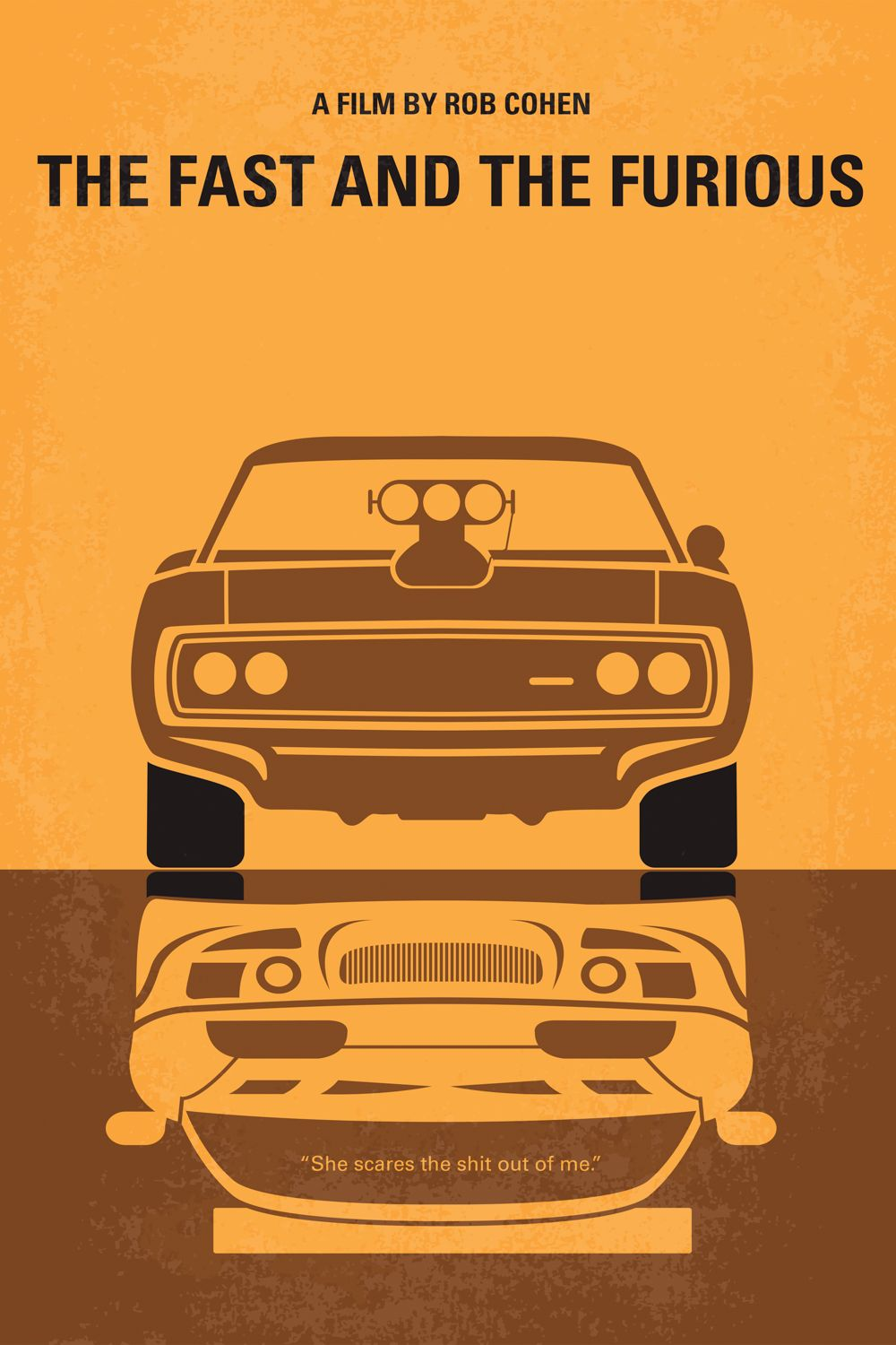 The Fast And The Furious Minimal Movie Poster Art Chungkong