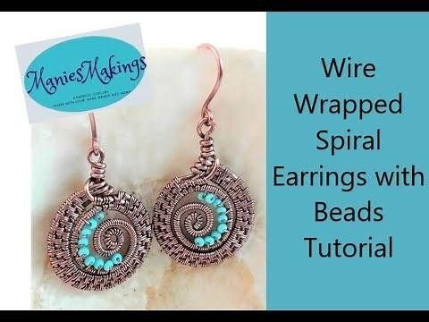 WIRE WRAPPED STONES FREE TUT - Yahoo Video Search Results   耳環 ...