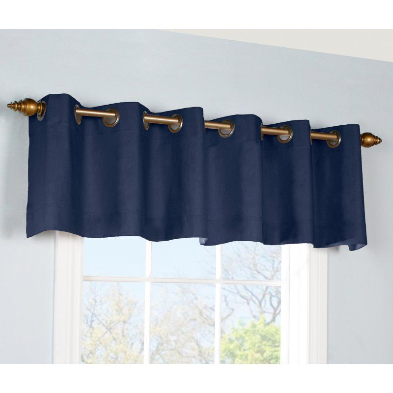 Commonwealth Thermalogic Weathermate Grommet Valance Navy - 37004015609